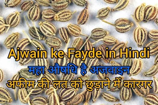 Ajwain ke Fayde aur Nuksan in Hindi